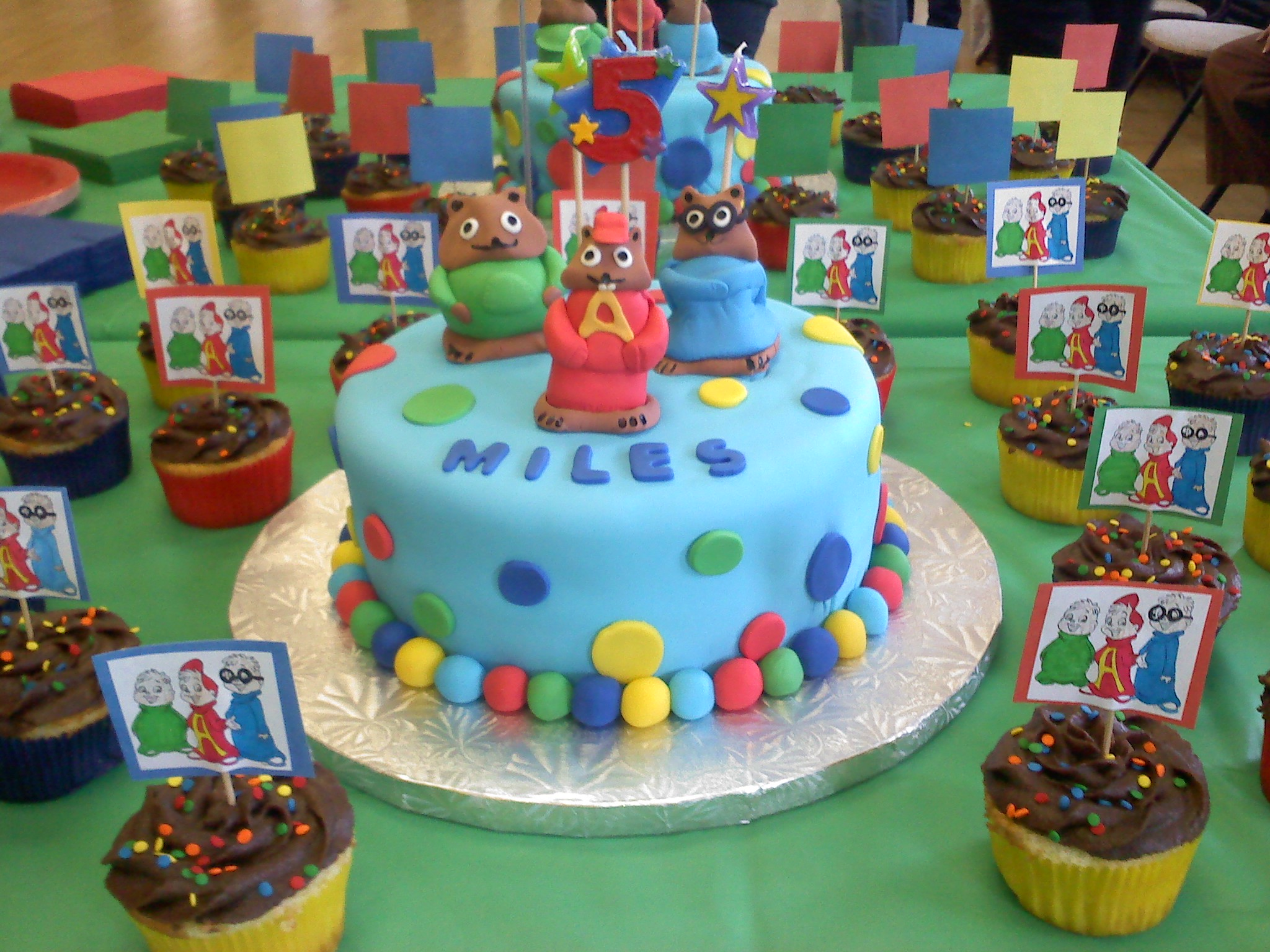 Alvin And The Chipmunks Birthday Cake: Gallery