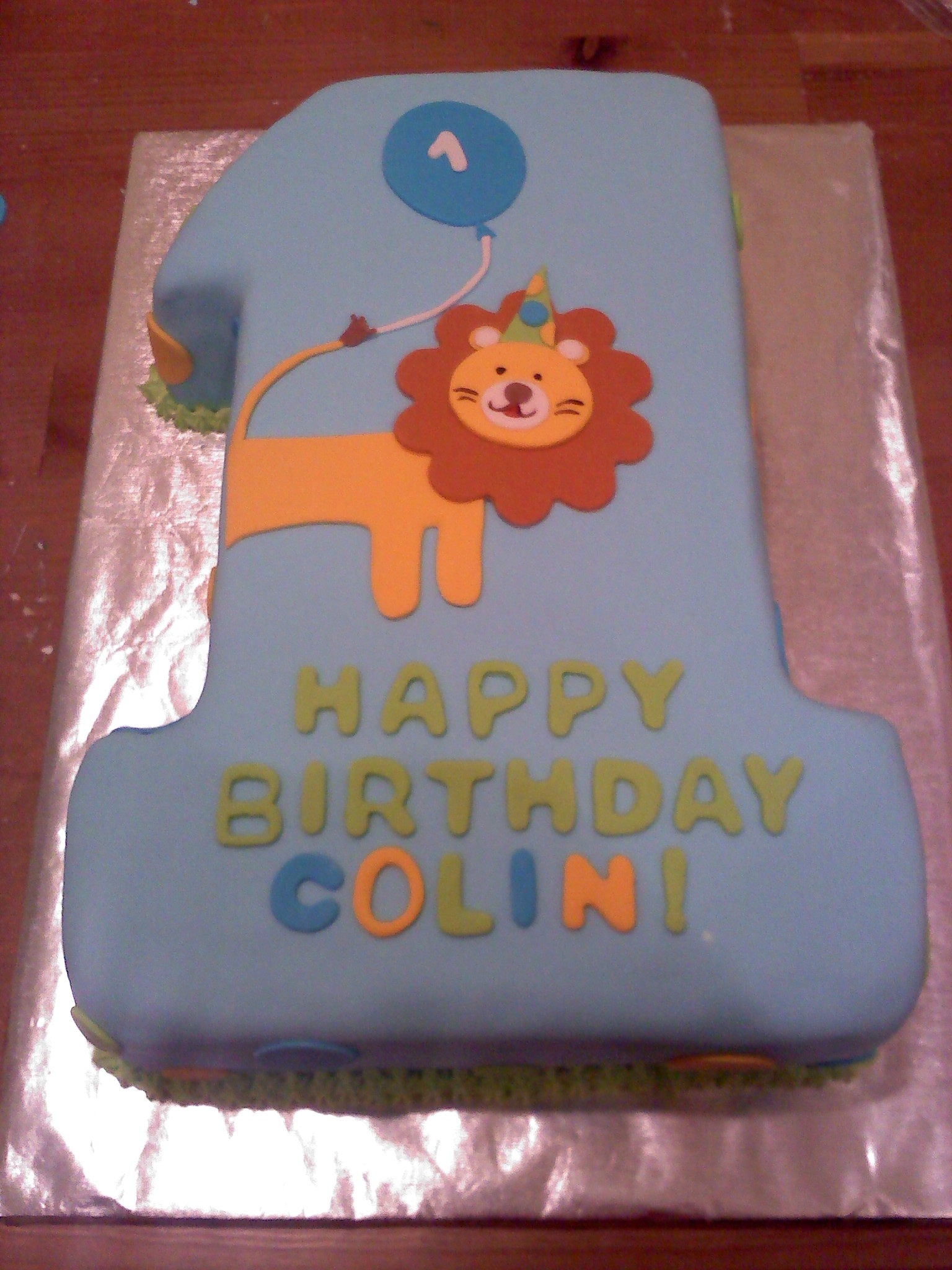 Cake Images For Boys : First birthday cake