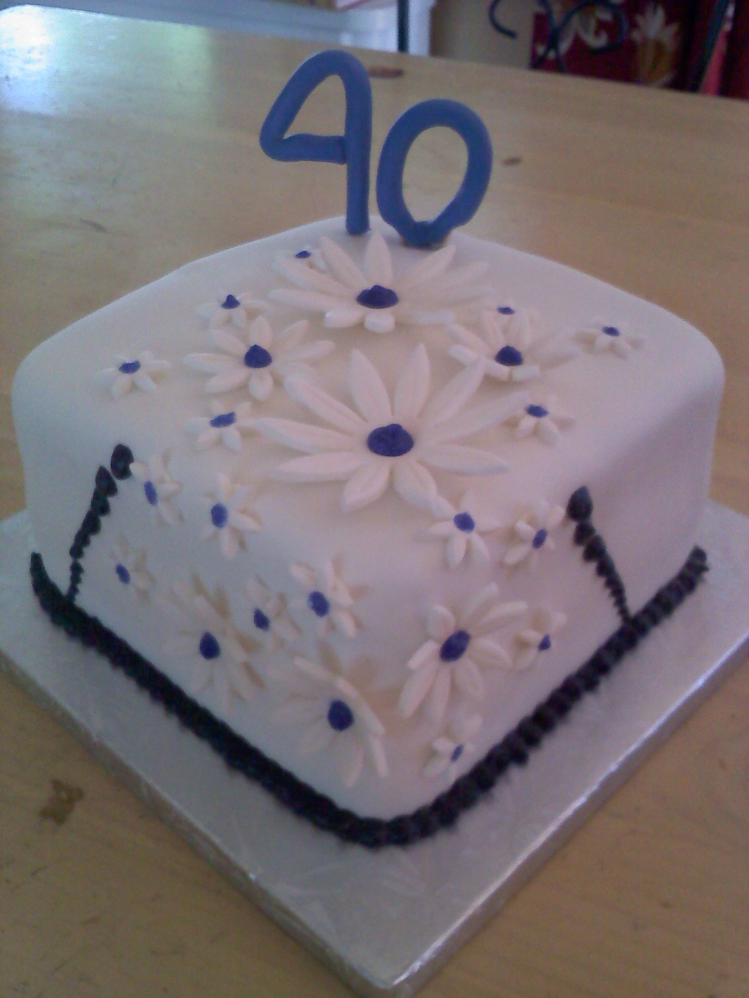 marias 40th cake Birthday Cake For Best Friend Female