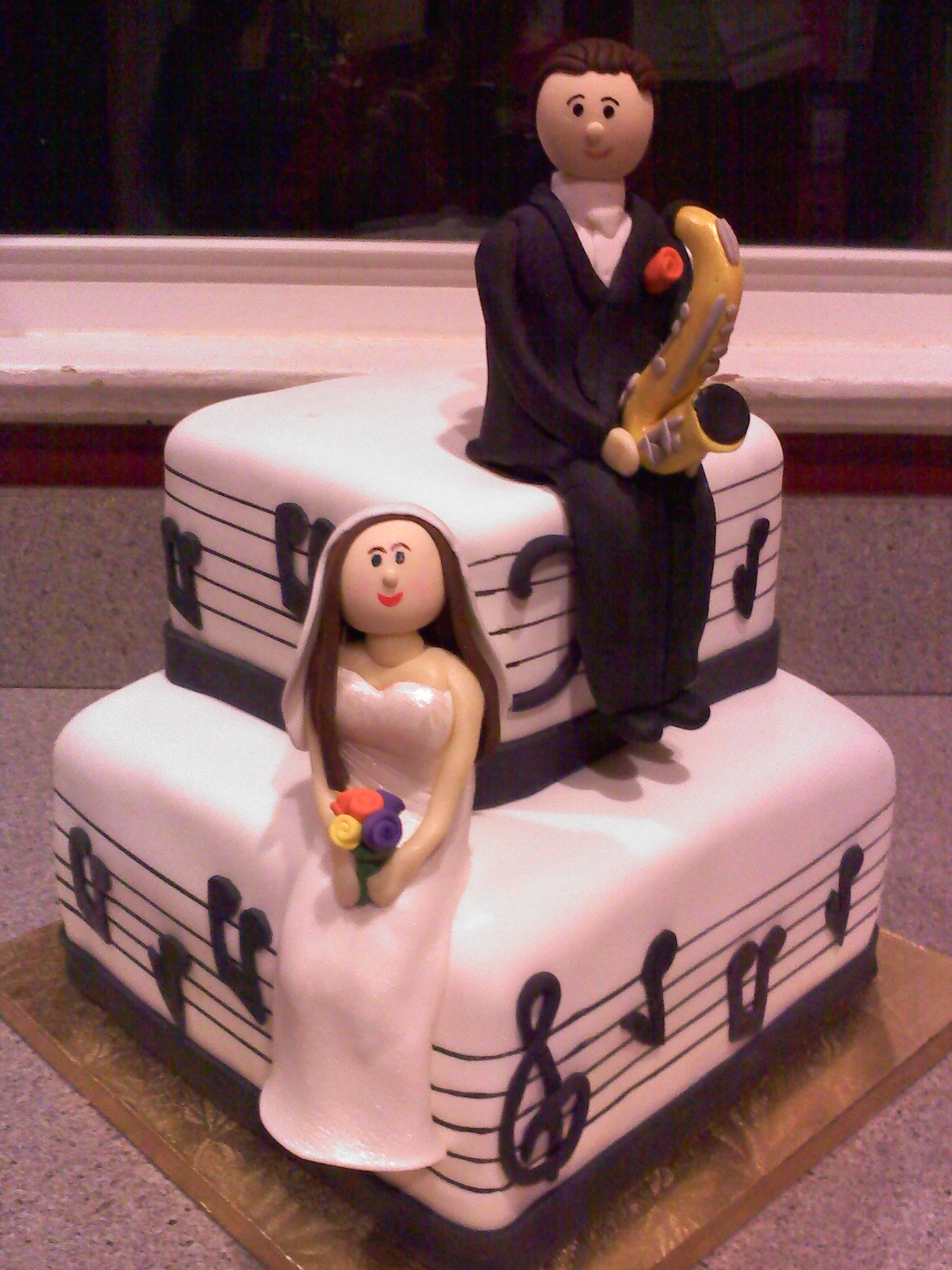 music theme groom s cake. Black Bedroom Furniture Sets. Home Design Ideas